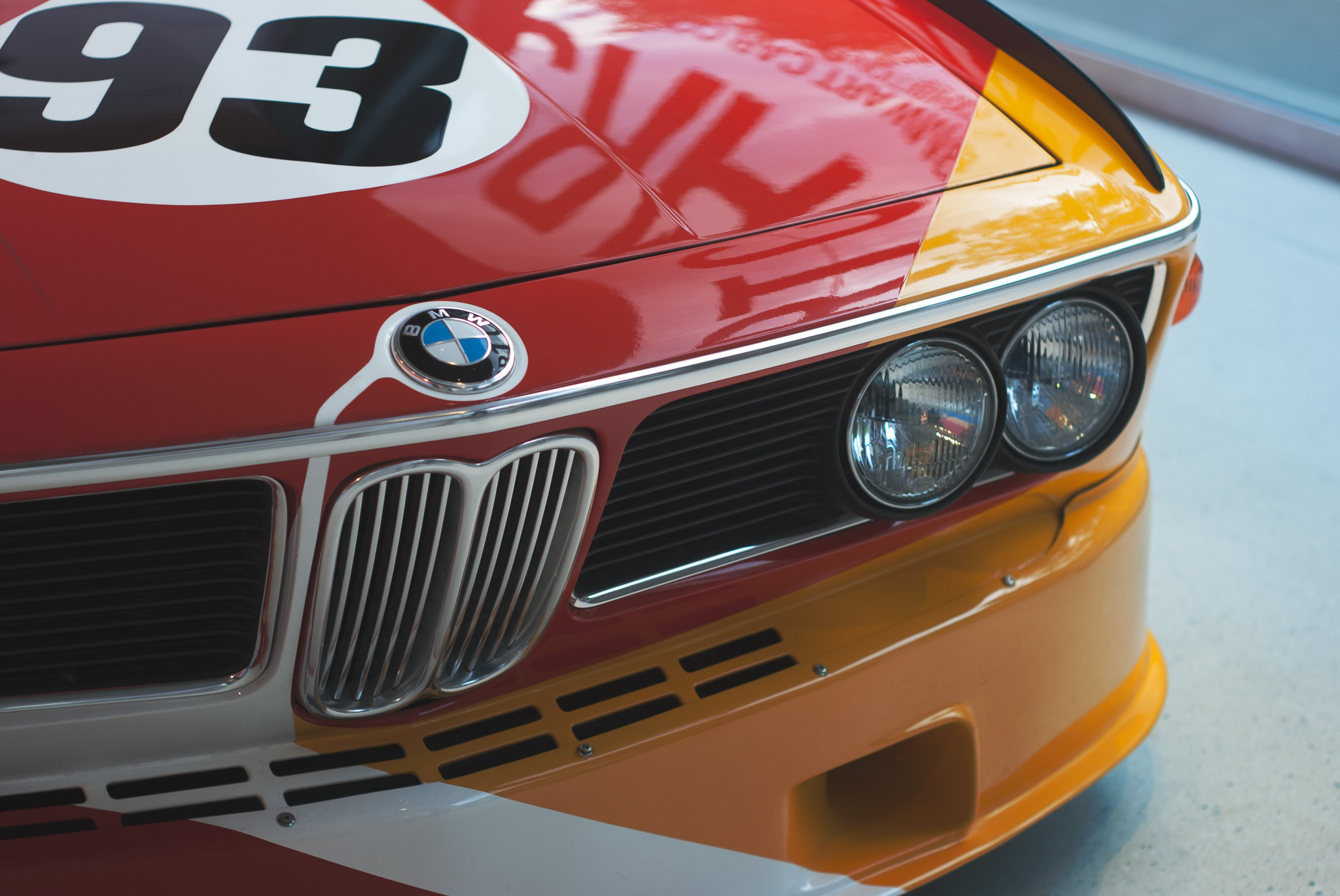 BMW 3.0 CSL - Art Car 01 - Alexander Calder